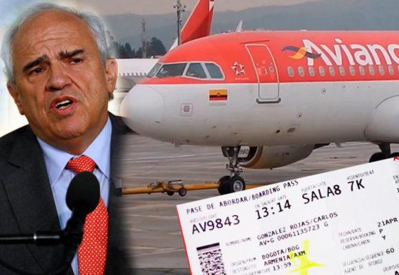 Nos bajaron de un avión de Avianca para sentar a Ernesto Samper