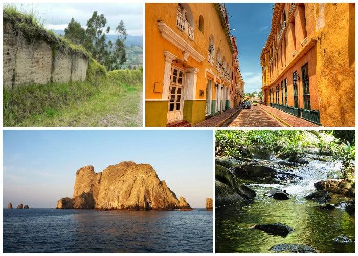 ¿Sabe usted dónde quedan las joyas colombianas que son patrimonio de la humanidad?
