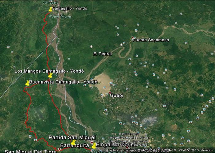 El sur de Bolívar continúa incomunicado por vía terrestre