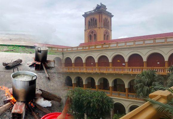 ¿Sancocho de coincidencias en el comedor de la Universidad de Cartagena?