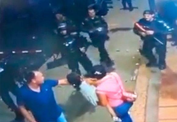 Videos: ESMAD en Buenaventura, más violento que la Guardia Venezolana