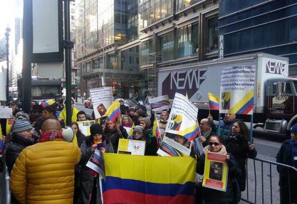 ¿Qué ha pasado con las movilizaciones de los colombianos en el exterior?