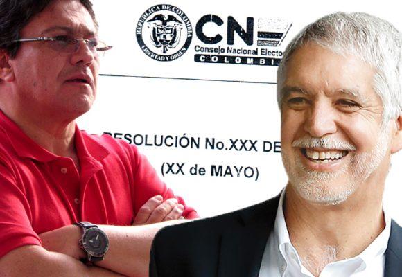 El Consejo Nacional Electoral avanza en la línea de hundir la revocatoria de Peñalosa