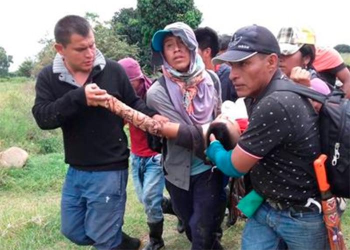 La lucha a muerte de los indígenas en el Cauca