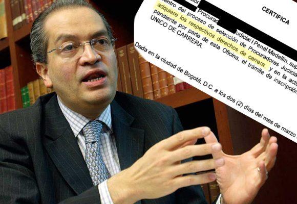 El Procurador Carrillo y los 700 procuradores judiciales que no pudo escoger