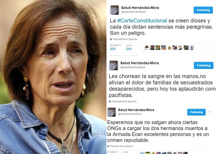 Carta de un impotente a Salud Hernández: Si esto es tal chiquero ¿Qué haces en Colombia?
