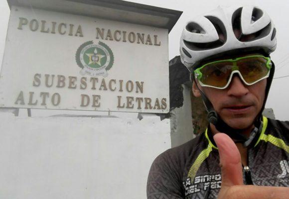 Letras, un puerto para graduarse como ciclista aficionado