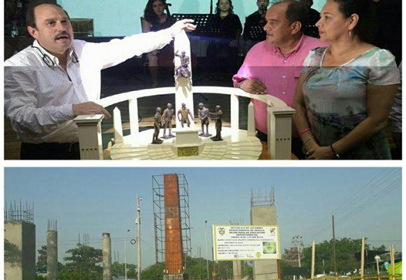 El Obelisco de Arauca solo quedó en maquetas