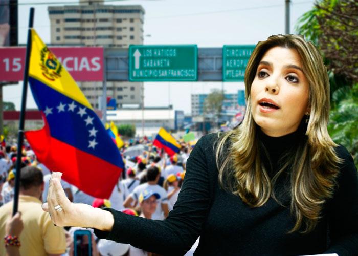 La caleña que maneja Telesur, la cara del chavismo para el mundo