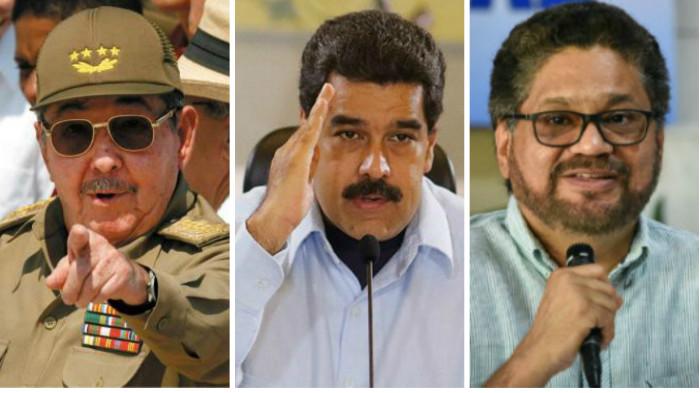 Cuba, Venezuela, Farc