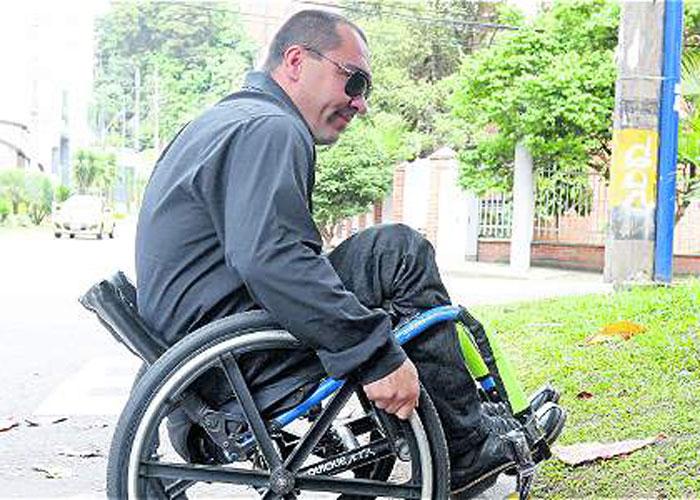 Población con discapacidad en Medellín, sin doliente ni padrino