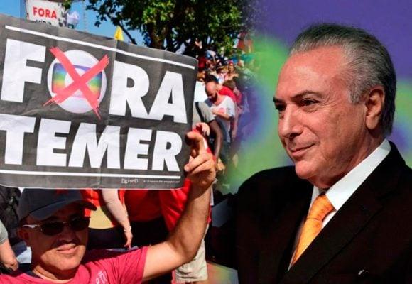 ¿Por qué los brasileros piden la renuncia del Presidente Temer?