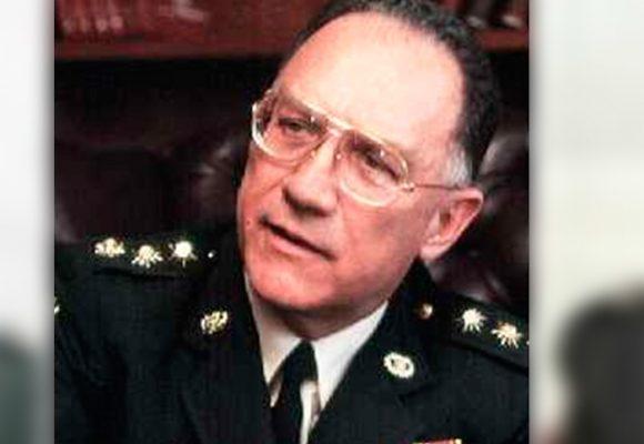 Murió el general Harold Bedoya, el guerrero mayor