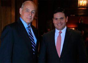 El general que le ayudó al exembajador Pinzón a concretar el encuentro Santos-Trump