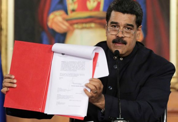 Marcha la Constituyente comunal bolivariana