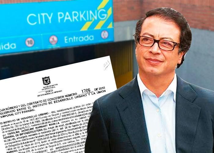 El negocio de City Parking con los predios del Distrito en la administración de Petro
