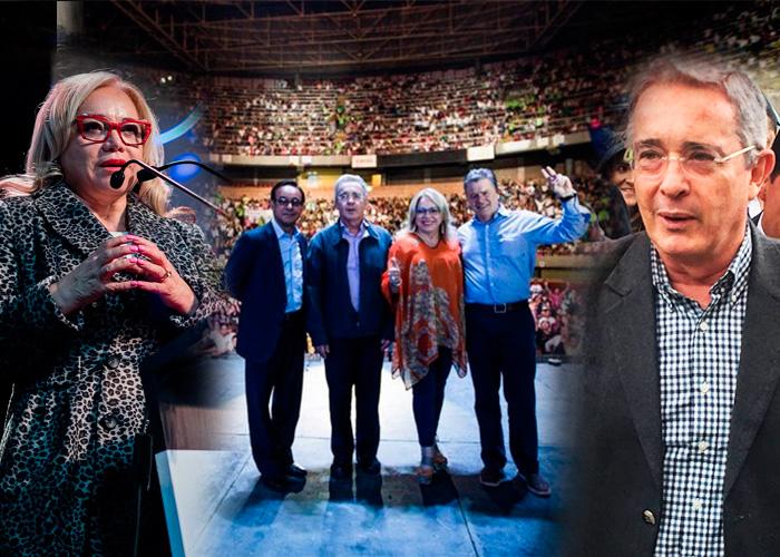 La pastora cristiana que nunca le ha fallado a Álvaro Uribe