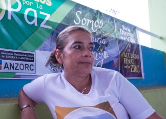 Doris Rivera, la guerrera de la Macarena que está en la mira de los paras