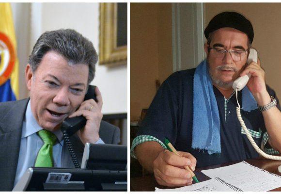 ¿Qué le dijo Timochenko a Santos cuando hablaron por teléfono?