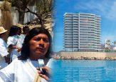 El indígena kogui que se le atravesó al proyecto más lujoso de Santa Marta