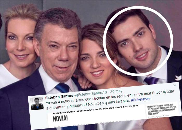 El insoportable matoneo al hijo menor del presidente Santos
