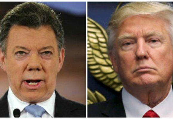 El premio nobel Santos de rodillas ante Trump