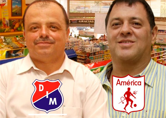 Tulio Gómez y Raúl Giraldo: los tenderos que con el América y el Medellín revolucionaron el fútbol colombiano