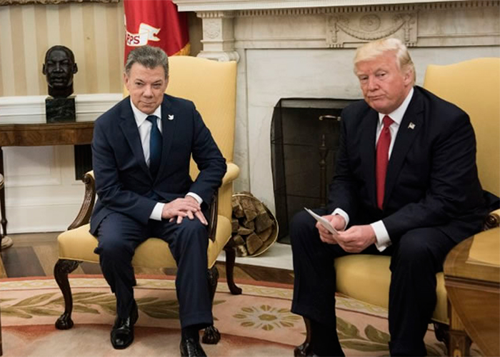 El grave sabotaje de Santos a Trump