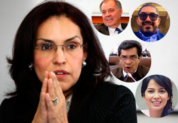 Los cuatro mosqueteros de Viviane Morales en la cruzada contra la adopción gay