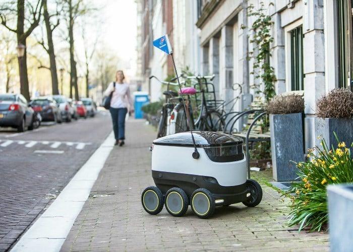 ¿Puede un robot repartir pizzas mejor que un ser humano?