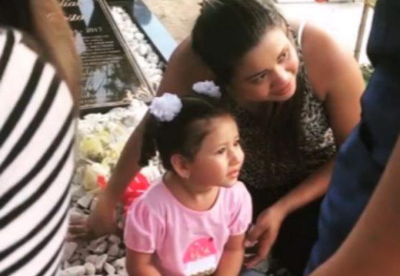 La visita de la hija de Martín Elías a su tumba que escandalizó las redes