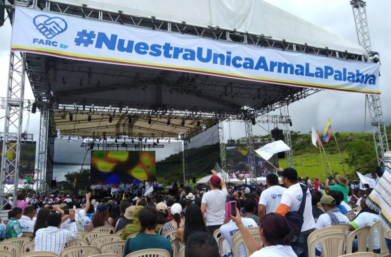 La dejación de armas de las FARC: un paso más hacia la paz