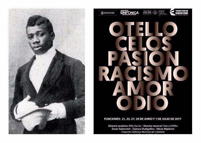 La tragedia de Chocolate, el primer actor negro en interpretar a Otelo