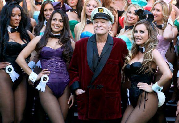 Los últimos días de Hugh Hefner y su imperio de conejitas Playboy