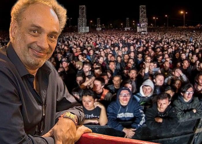 Julio Correal, el rumbero que se inventó Rock al parque
