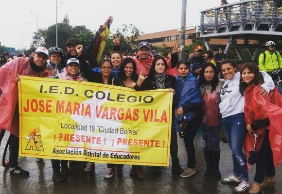 Paro del Magisterio colombiano: ser y no ser maestro para vivirlo y contarlo