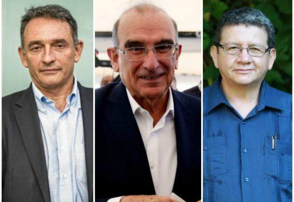 Cóctel de despedida por la consejera política de Noruega con FARC y negociadores presentes