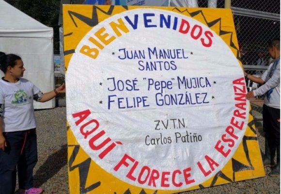 Entrega pública de las armas de las FARC en el Cauca