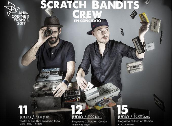 Scratch Bandits Crew llega a Bogotá