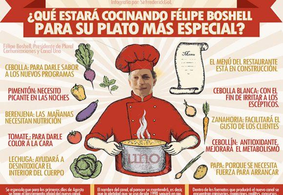 ¿Qué estará cocinando Felipe Boshell para su plato más especial?