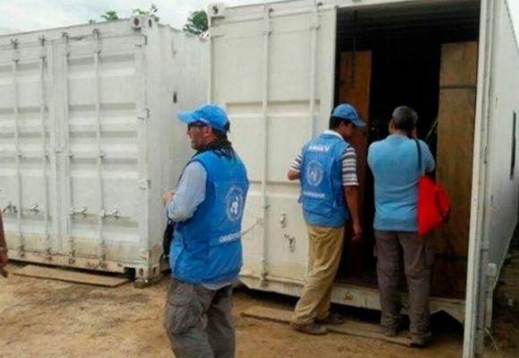 Las fotos que se conocen de la entrega de armas de las FARC
