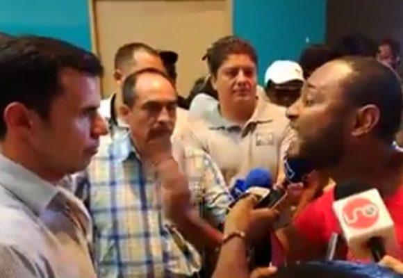 La vaciada que le pegó el líder Isaías Cifuentes al Ministro Rivera