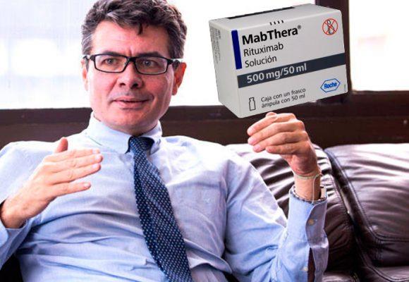 El medicamento para el cáncer del ministro Gaviria es uno de los que tuvieron que bajar de precio