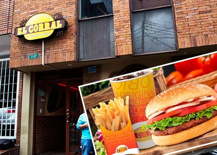 Cuando las hamburguesas de El Corral iniciaron en un pequeño local frente a la Javeriana