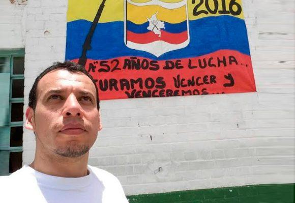 René Nariño uno de los 3.000 presos políticos que vieron la libertad por el proceso de paz