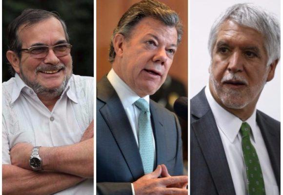 Las FARC con mejor imagen que los partidos políticos y muy cerca de Santos y Peñalosa