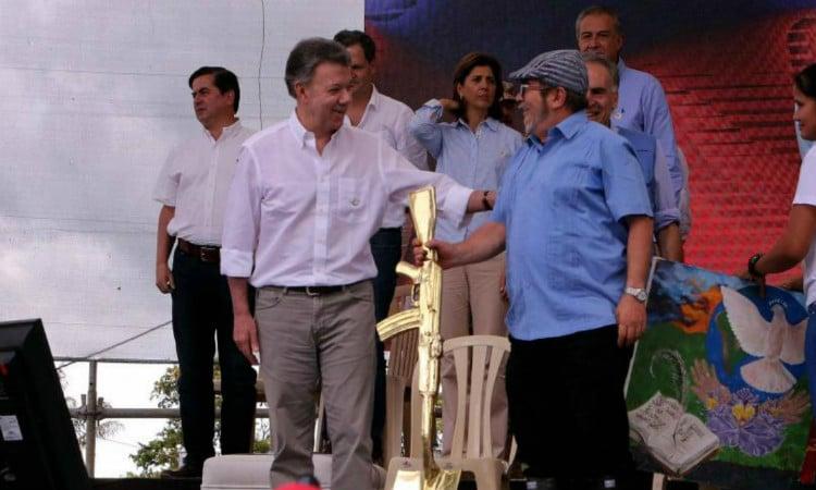 Un 27 de junio en Mesetas (Meta) llegó la paz