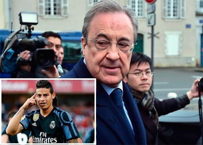 Los millonarios contratos en Colombia del emperador del Real Madrid