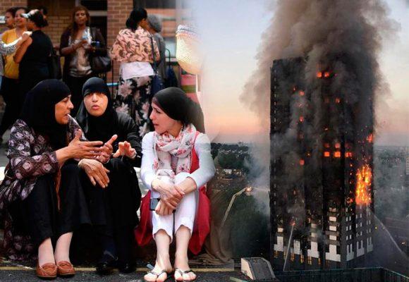 Los 'odiados' musulmanes que salvaron a 200 personas en el incendio de Londres