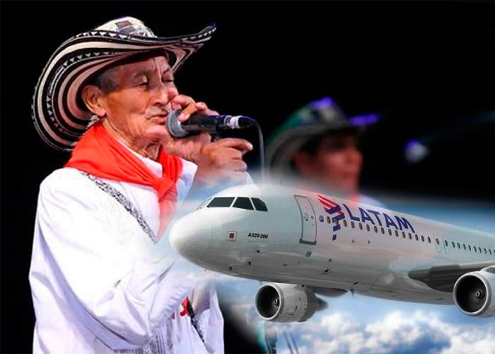 La aerolínea Latam habría perdido los instrumentos y equipos de Los Gaiteros de San Jacinto